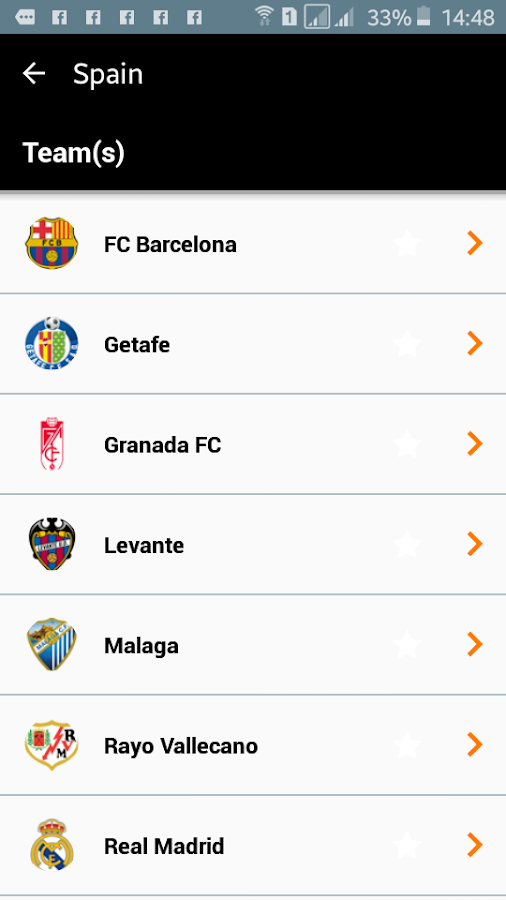 Orange Football Club Africa- screenshot