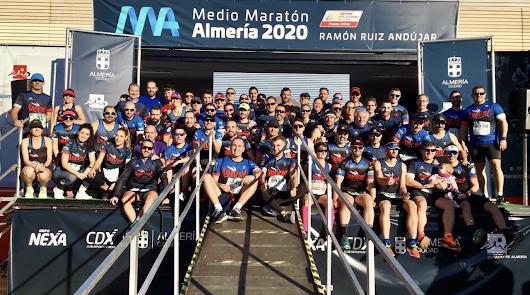 El Club Deportivo Galosport con la Media Maratón de Almería