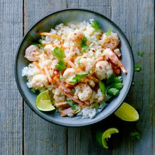 Coconut Milk Shrimp