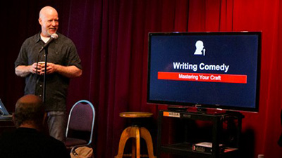 how to write your first stand-up act