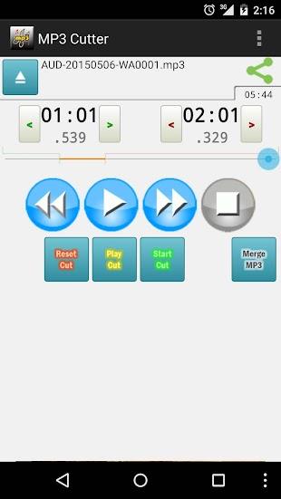 MP3 Cutter Pro- screenshot thumbnail