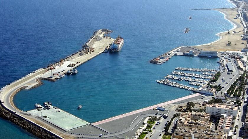 Las obras del dique de abrigo del puerto de Garrucha se inician a final de mes