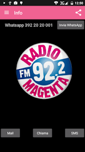 Radio Magenta- screenshot thumbnail