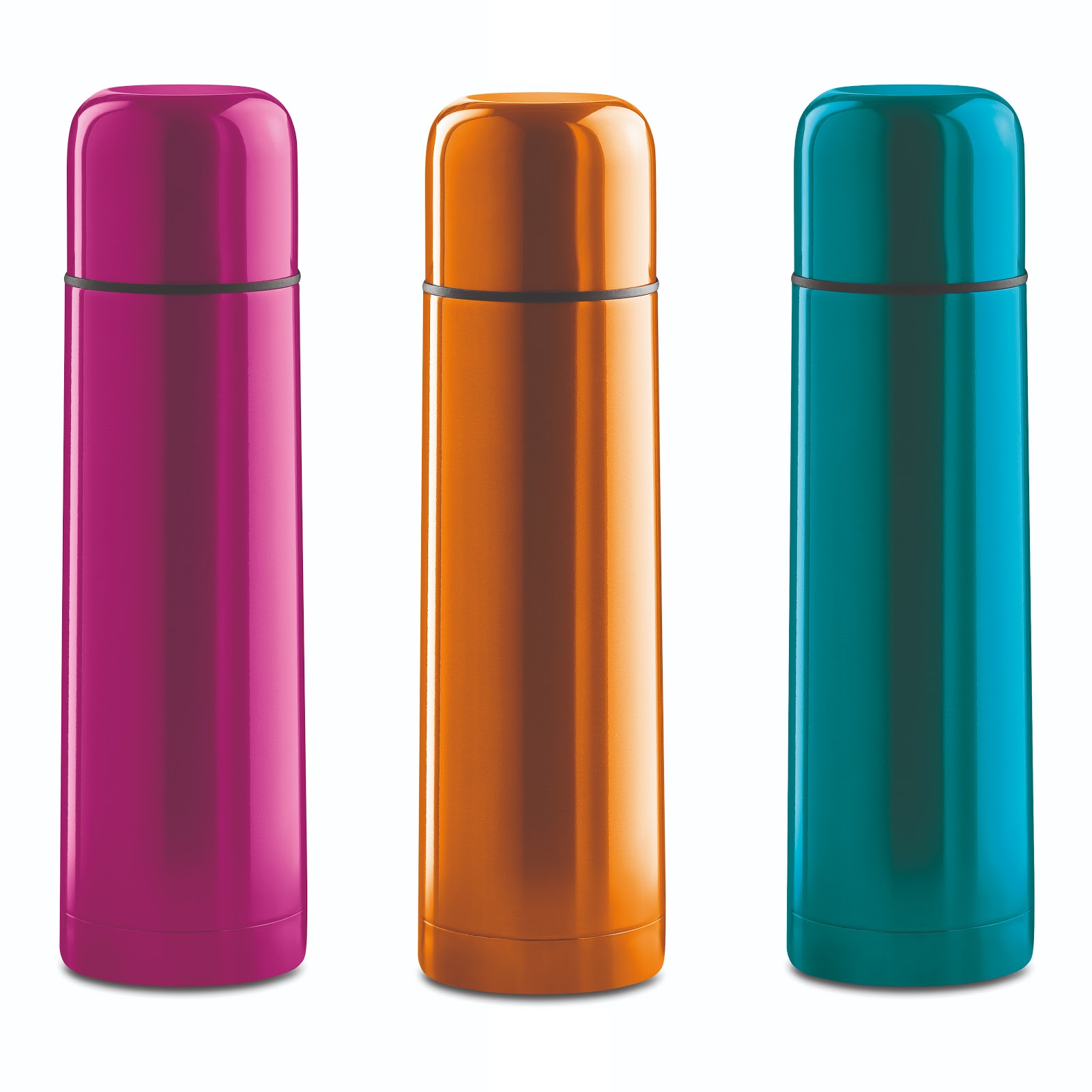 Personal Vacuum Flask with Built-In Cup