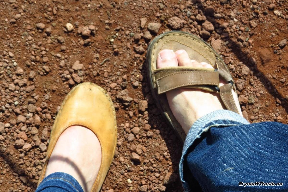 W.: 'buty mają być wygodne!'