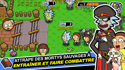 Pocket Mortys  captures d'écran 1