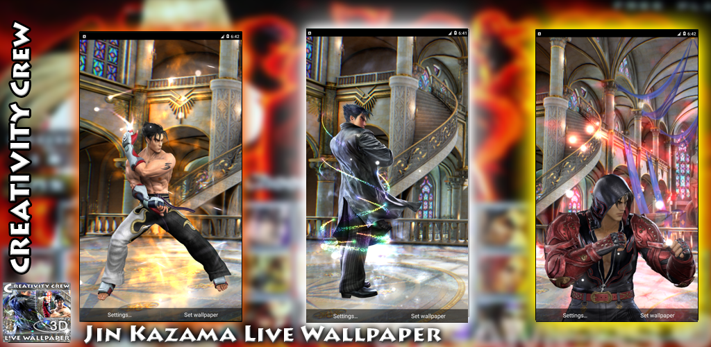 Download Jin Kazama Live Wallpaper Hd Apk Latest Version App For