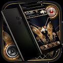 Gold Black Shiny Luxury Launcher Theme 💖 icon