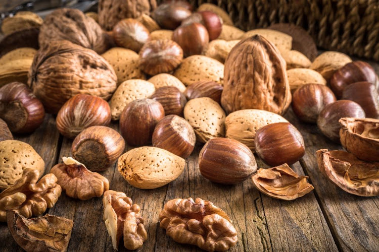 Nuts are a key component of a Mediterranean diet.