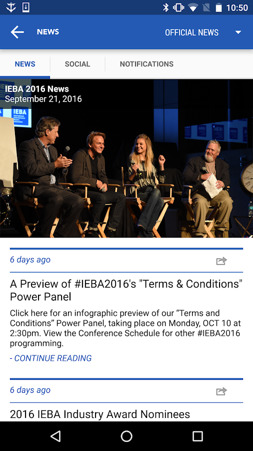IEBA 2016- screenshot