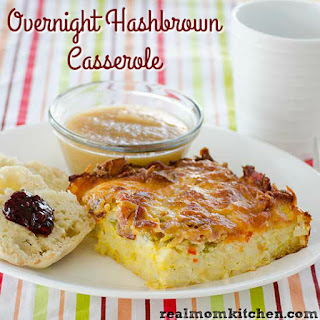Overnight Hashbrown Casserole.