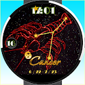 12Zodiac sign Cancer WatchFace icon