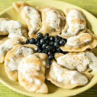 Blueberry Dumplings A.K.A Pierogi z Jagodami