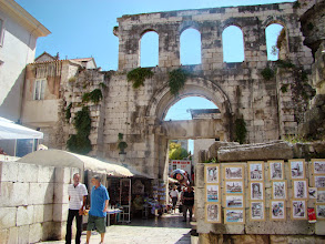 Photo: Split - Pałac Dioklecjana - Chorwacja
