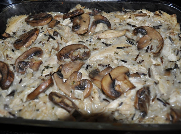 Baked Chicken & Rice For Two Recipe