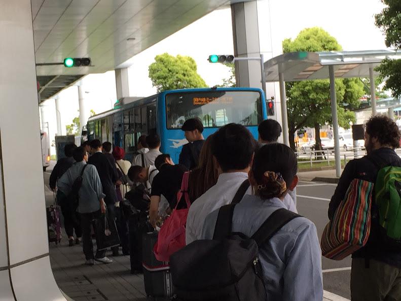 福岡空港 巡回バス