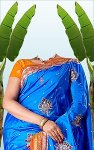Wedding Saree Photo Suit screenshot 8