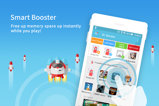 Dr. Booster - Boost Game Speed 2.0.1077 screenshots 1