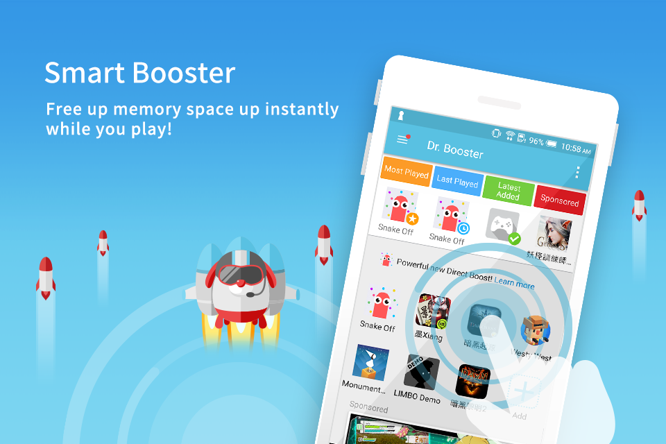Dr. Booster - Boost Game Speed- screenshot