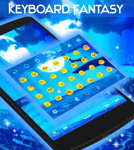 無料个人化AppのGOキーボードのためのファンタジーのテーマ|記事Game
