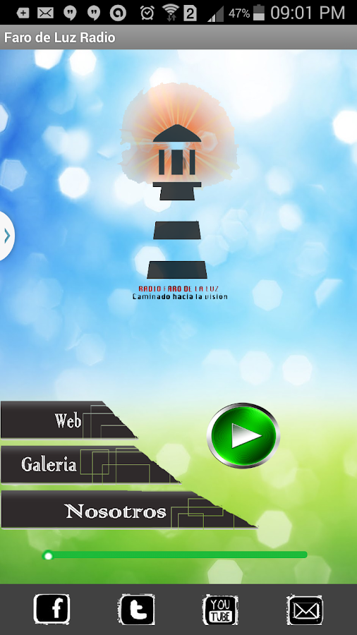 Faro de Luz- screenshot