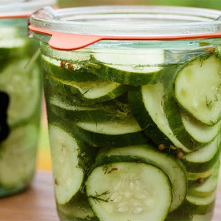 Refrigerator Cucumber Pickles Recipe