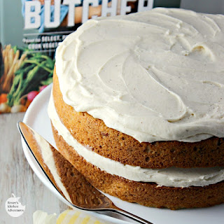 Parsnip-Ginger Layer Cake with Browned Buttercream Frosting Recipe