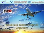 Take Splendid Air Ambulance in Siliguri with ICU Facility