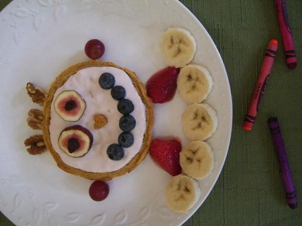 Robot Yogurt And Fruit Waffle Recipe