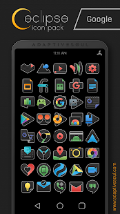 Eclipse Icon Pack Screenshot