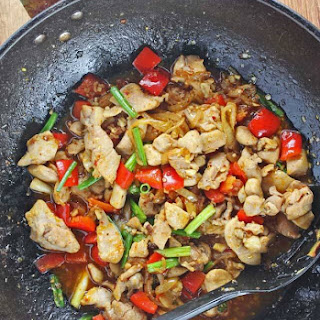Stir Fry Vietnamese Lemongrass Chicken