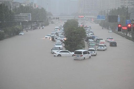 The extraordinary, almost unbelievable, rainfall in Henan Province yesterday