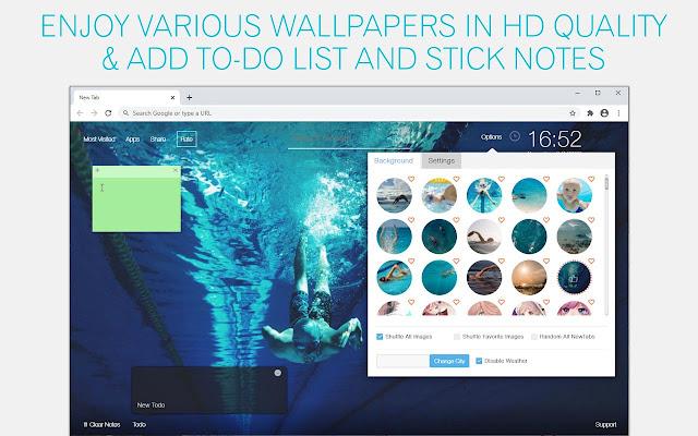 Swimming Wallpaper HD Swimming New Tab