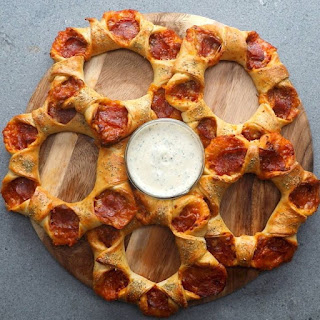 Mini Pizza Stars.