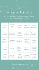 Virgo Bingo - Instagram Story item