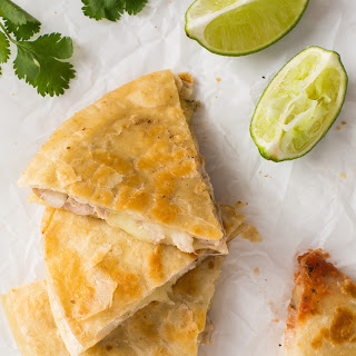 Cilantro-Lime Chicken Quesadillas.