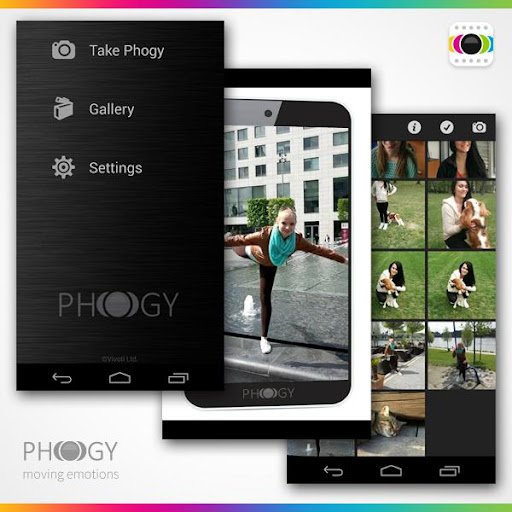 Phogy, 3D Camera screenshot 2