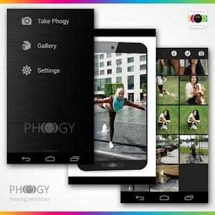 Phogy, 3D Camera Screenshot