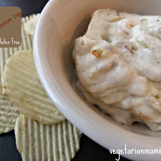 French Onion Dip – Gluten Free and Vegan.