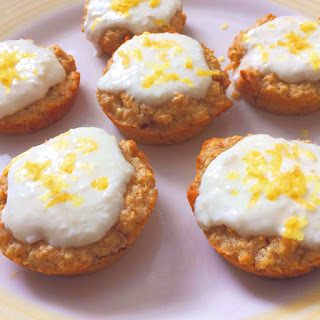 Healthy Skinny Lemon Muffins.
