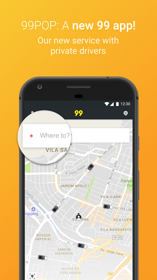 99 POP - Ridesharing- screenshot