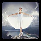 Ballerina Fond Animé icon