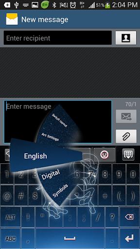 【免費個人化App】星座白羊座GO鍵盤主題-APP點子