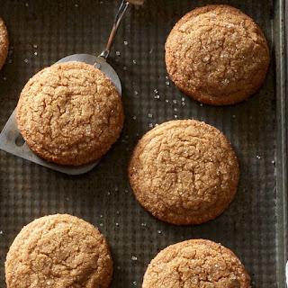 Brown Sugar Crackle Cookies.
