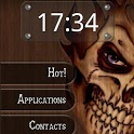 Wood Skull ssLauncher Theme icon