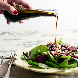 Light Balsamic Vinaigrette Dressing.