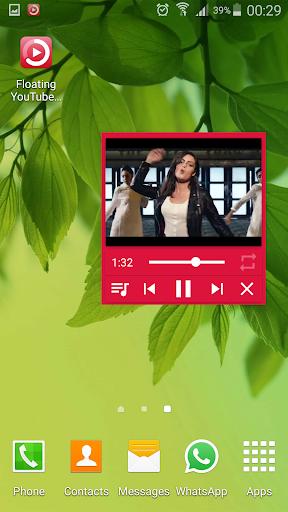 Floating YouTube Music Player 1.0 screenshots 4