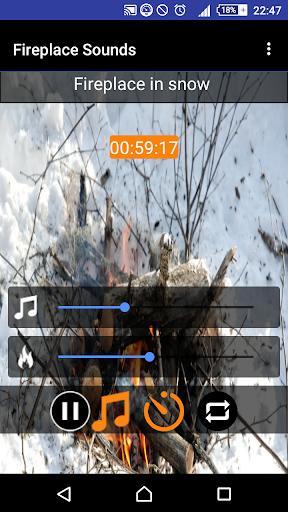 Relax & Sleep Fireplace Sounds 1.20 screenshots 5