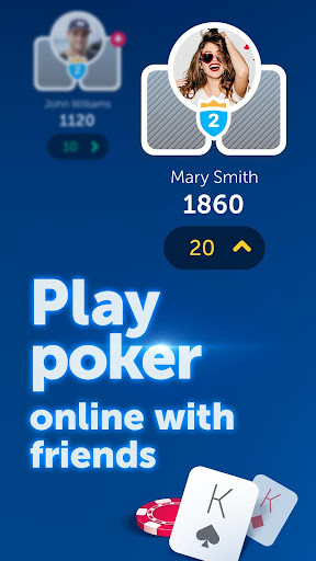 PokerUp: Social Poker  screenshots 1