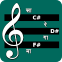 Sargam and Western Piano Notes icon